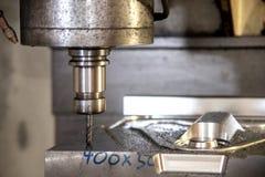 CNC mielenia maszynowy rozcięcie skucie foremka zdjęcie royalty free