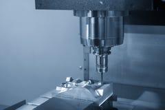 CNC mielenia maszynowy rozcięcie wtryskowa foremka zdjęcia stock