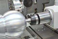 CNC-milling, Lathe. A photo of CNC-milling lathe royalty free stock photography