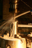CNC Milling Machine Royalty Free Stock Photography