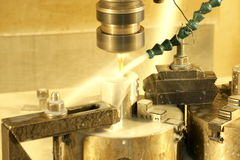 CNC milling machine stock images