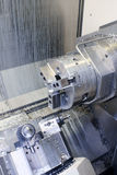 CNC Milling Machine Royalty Free Stock Photo