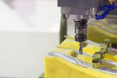 The CNC milling machine Royalty Free Stock Photos