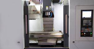CNC milling machine royalty free stock photo