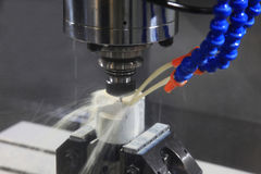CNC Milling Machine Stock Images