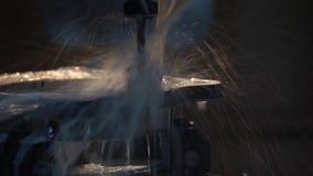 CNC musztrowania maszynowy proces zdjęcie wideo