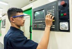 CNC operator Stock Photos