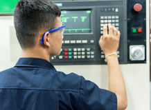 CNC operator Stock Images