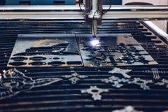 CNC plasma cutting machine. High precision CNC plasma cutting machine Royalty Free Stock Photos