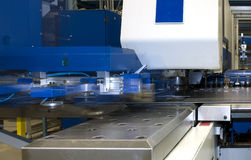CNC puncing press Royalty Free Stock Image