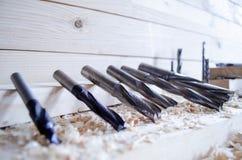 Cnc-Routerschneider für die Holzbearbeitung industriy lizenzfreie stockfotos