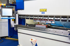 Free CNC Synchronized Hydraulic Press Brake Royalty Free Stock Images - 93533269