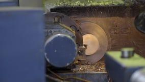 CNC Tokarska maszyna w warsztacie zbiory wideo