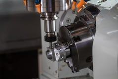CNC turning center Royalty Free Stock Image