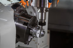 CNC turning center Stock Photo