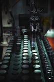 CNC Turning parts stock photo