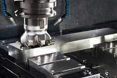 CNC van de hoogteprecisie Malenmachine royalty-vrije stock afbeeldingen