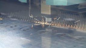 CNC włókna laserowy tnący wyposażenie Używa zaawansowany technicznie wyposażenie w przemysle ciężkim zdjęcie wideo