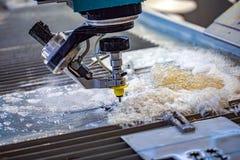 Free CNC Water Jet Cutting Machine Royalty Free Stock Images - 160977639