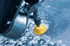 CNC wodnego strumienia tnąca maszyna obraz royalty free