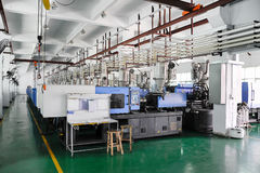 CNC workshop royalty-vrije stock afbeeldingen