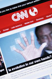 CNN fotografia de stock