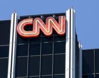 CNN budynku powierzchowność zdjęcia stock