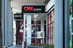 CNN budynku powierzchowność obrazy stock
