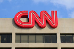 CNN Building Royalty Free Stock Images