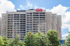 CNN Building Atlanta Royalty Free Stock Images