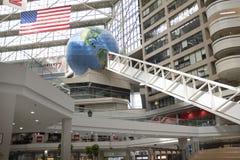 CNN Center, Atlanta, interior view stock photo