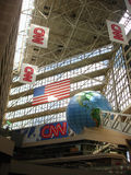CNN centrum Zdjęcie Royalty Free