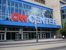 CNN centrum Obrazy Royalty Free
