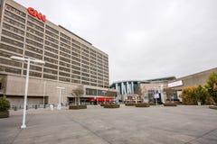 CNN-Centrumhoofdkwartier binnen de stad in Royalty-vrije Stock Fotografie