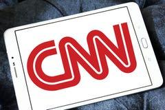 Cnn nowego kanału logo Zdjęcia Stock