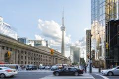 Cnn wierza w Toronto fotografia stock