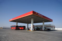 CNPC gas station Stock Photos