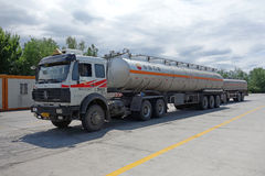 CNPC oil truck Royalty Free Stock Photo