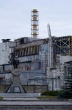 CNPP Chernobyl Nuclear Power Plant with Sarcophagus royalty free stock photography