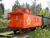 CNR Caboose royalty free stock photography