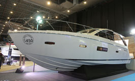 CNR Eurasia Boat Show Royalty Free Stock Images
