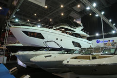 CNR Eurasia Boat Show Royalty Free Stock Image