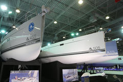 CNR Eurasia Boat Show Stock Photos