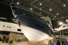CNR Eurasia Boat Show Royalty Free Stock Photos