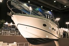 The most comprehensive and largest meeting of the maritime sector Istanbul 14. Cnr Eurasia Boat Show 2019 opened its doors splendi. Cnr Expo held in Yesilkoy 14 royalty free stock images