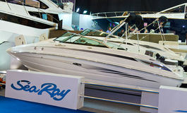 CNR International Eurasia Boat Show Royalty Free Stock Photos