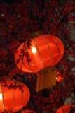 CNY chino de las linternas Fotos de archivo libres de regalías