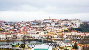 Coímbra, Portugal: visión general Imágenes de archivo libres de regalías