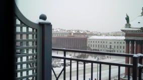 Собор Исаак в Санкт-Петербурге сток-видео