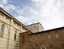 Собор Сен-Мартен de Lucques Лукка Тоскана Италия стоковое фото